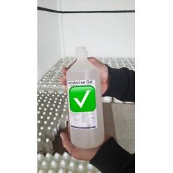 Alcohol en gel certificado...